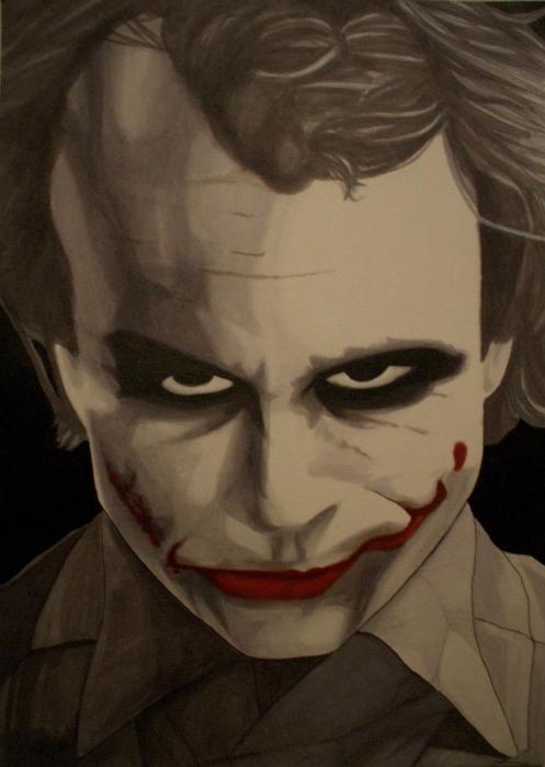 Heath Ledger by Markbickley
